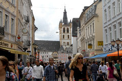 Central Trier, Germany royalty free stock images