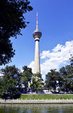Central TV Tower Royalty Free Stock Photo