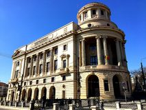 Central University Library of Iasi Stock Photography