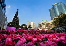 Central värld, Bangkok Arkivfoto