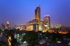 Central värld (CTW) de berömda shoppinggalleriorna i centrum av Bangkok Arkivfoto