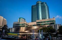 Central världsköpcentrum Fotografering för Bildbyråer