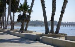 Central Ventura Beach Promenade Stock Photography