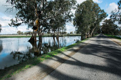 Central Victorian Floods Stock Photography