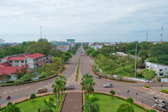 Central Vientiane. Laos. Royalty Free Stock Image