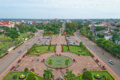 Central Vientiane. Laos. Stock Images