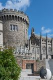 Central watchtower of The Castle, Dublin Ireland. Stock Photo