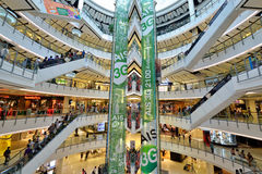 Central World Shopping Mall, Bangkok Stock Photos