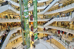 Central World Shopping Mall, Bangkok Stock Photo