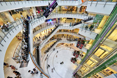 Central World Shopping Mall, Bangkok Royalty Free Stock Photography