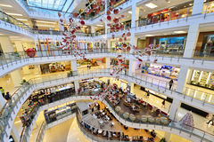 Central World Shopping Mall, Bangkok Stock Image