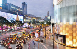 Central World shopping mall Royalty Free Stock Photos