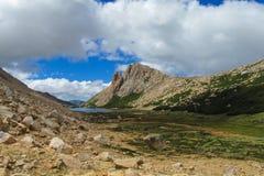 Centrala Anderna område, Argentina och Chile Arkivfoton