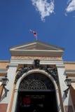 centrala chile de mercado santiago Arkivbild