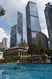 centrala Hong Kong Royaltyfri Bild