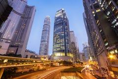 Centrala Hong Kong Fotografering för Bildbyråer