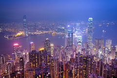 Centrala Hong Kong Royaltyfria Bilder