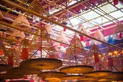 Centrala Hong Kong, Styczeń, - 12, 2018: Kurenda kadzi zwitka b zdjęcia royalty free
