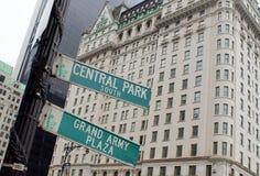 Centrala Park obrazy stock