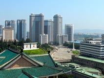 Centrala Pyongyang Arkivfoto