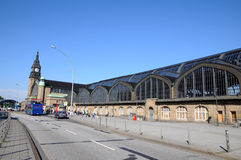 Centrala stacyjny Hamburg Obraz Royalty Free