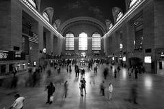 centrala storslagna New York Royaltyfri Fotografi