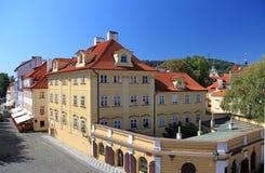 centrala tjeckiska gammala prague Royaltyfria Bilder