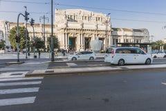 centrale米兰火车站 免版税库存照片