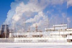Centrale électrique Photos libres de droits