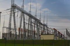 Centrale électrique Photo stock