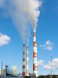 Centrale électrique Photographie stock