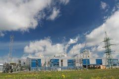 Centrale électrique image libre de droits