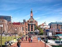 Centrale électrique de Baltimore images libres de droits
