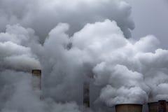 Centrale électrique de charbon Photos libres de droits