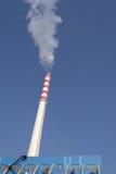 centrale électrique de cheminée Photos libres de droits