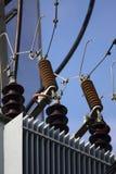 Centrale électrique de l'électricité Image libre de droits