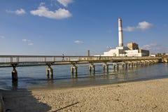 Centrale électrique du relevé Image libre de droits