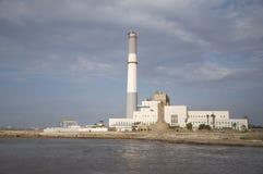 Centrale électrique du relevé Photographie stock