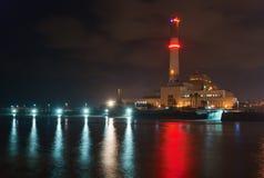 Centrale électrique du relevé Image stock