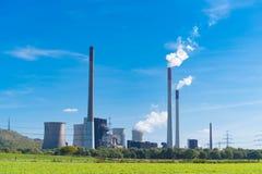 Centrale électrique en Allemagne photos stock