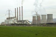Centrale électrique géante Photographie stock