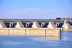 Centrale électrique hydraulique Images stock