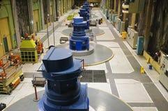 Centrale électrique hydraulique Images libres de droits
