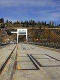 Centrale électrique hydraulique de la Nouvelle Zélande Photos libres de droits