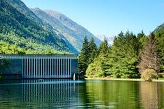 Centrale électrique hydraulique France du sud Images libres de droits