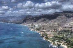 Centrale électrique Oahu, Hawaï Image libre de droits