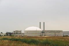 Centrale 13 de biogaz Photos libres de droits