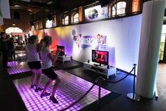 Centrale 2 di ballo e Kinect Fotografie Stock Libere da Diritti