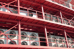 Centrale airconditioning Stock Foto's