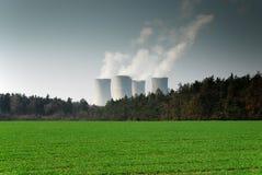 Centrale atomica Fotografia Stock Libera da Diritti